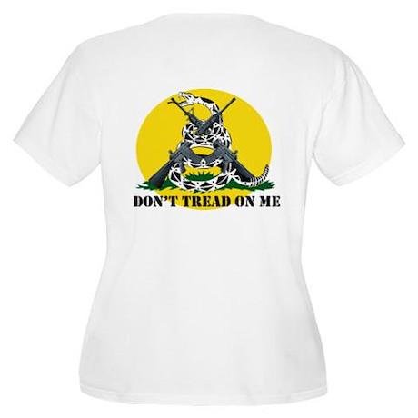 Gadsden Flag Women's Plus Size Scoop Neck T-Shirt