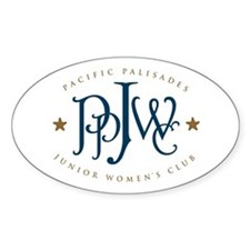 PPJWC Oval Decal