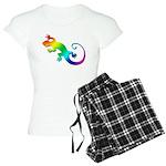 Rainbow Gecko Women's Light Pajamas