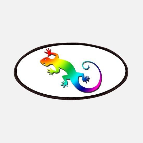 Rainbow Gecko Patches