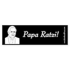 Pope Benedict XVI Bumper Sticker - Papa Ratzi!