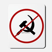 Sickle & Hammer No Communists Mousepad
