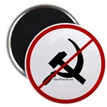 Sickle & Hammer No Communists Magnet