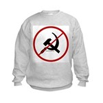 Sickle & Hammer No Communists Kids Sweatshirt