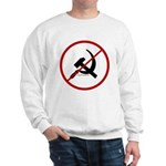 Sickle & Hammer No Communists Sweatshirt