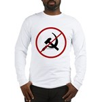 Sickle & Hammer No Communists Long Sleeve T-Shirt