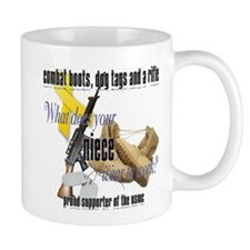 USMC What Does Your Niece Wear? Mug