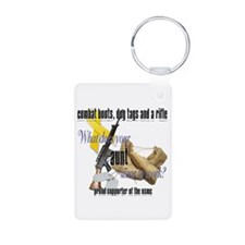 USMC What Does Your Aunt Wear? Keychains
