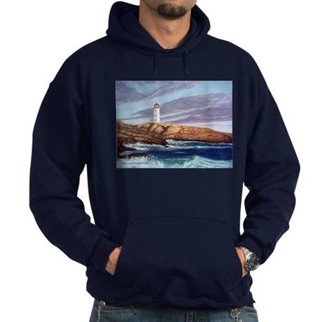 Peggy's Cove Lighthouse Hoodie (dark)