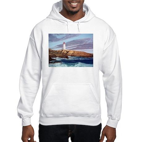 Peggy's Cove Lighthouse Hooded Sweatshirt