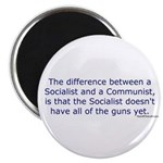 Socialist and Communist Magnet