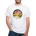 Pasadena White T-Shirt