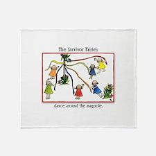 Dance the Maypole Throw Blanket