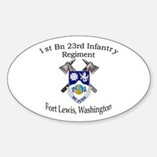 1st Bn 23rd Infantry Decal