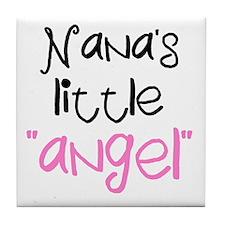 Nana's Little Angel Tile Coaster