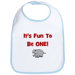 It's Fun To Be One! w/ Elepha Bib