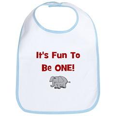 It's Fun To Be One! w/ Elepha Bib