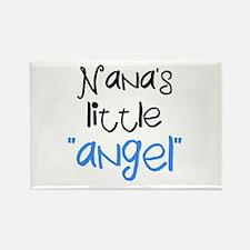 Nana's Little Angel (boys) Rectangle Magnet