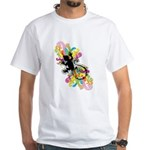 Groovy Gecko White T-Shirt
