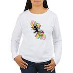 Groovy Gecko Women's Long Sleeve T-Shirt