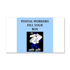 mailman gifts and t-shirts Car Magnet 12 x 20