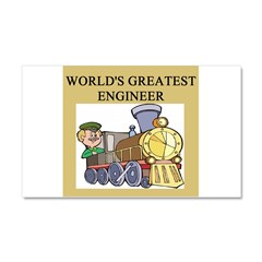 ENGINEER GIFTS T-SHIRTS Car Magnet 12 x 20