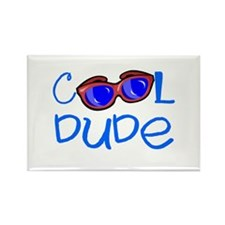 Cool Dude Rectangle Magnet