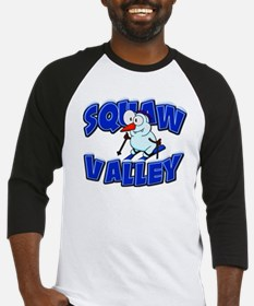 Squaw Valley Snowman Baseball Jersey