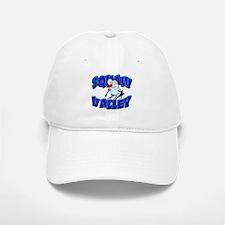 Squaw Valley Snowman Baseball Baseball Cap