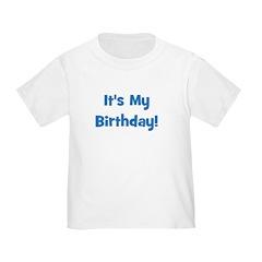 It's My Birthday! Blue T