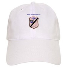 Marine Attack Squadron 214 with Text Baseball Cap