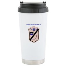 Marine Attack Squadron 214 with Text Travel Mug