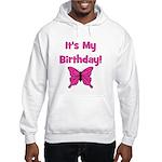 It's My Birthday! Butterfly Hooded Sweatshirt