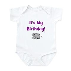 It's My Birthday! Elephant Infant Creeper