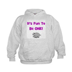 It's Fun To Be One! Elephant Hoodie