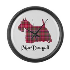 Terrier - MacDougall Large Wall Clock