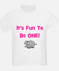 It's Fun To Be One! Elephant Kids T-Shirt