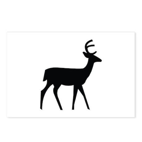 Deer Image Postcards (Package of 8)