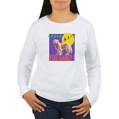 """Golden Retriever """"Purple Field"""" Wmn'sLng"""