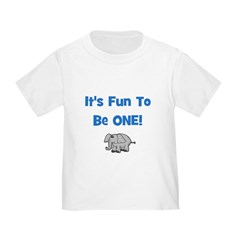 It's Fun To Be ONE! Elephant T
