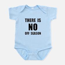 No Off Season BLack Body Suit