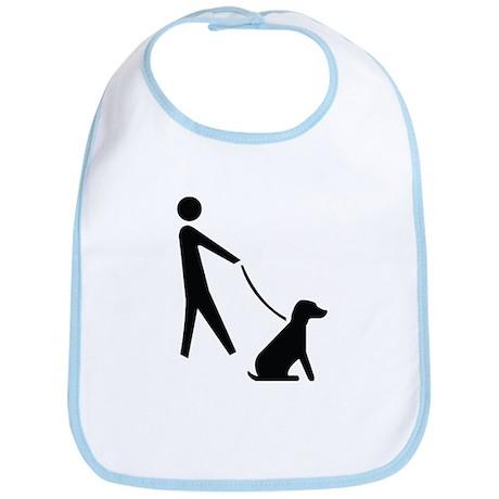 Walk Dog Image Bib
