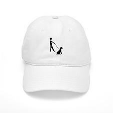 Walk Dog Image Baseball Cap