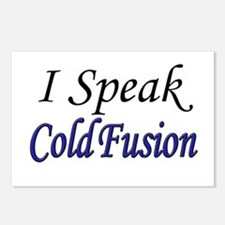 """""""I Speak Cold Fusion"""" Postcards (Package of 8)"""