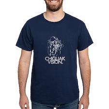 Rendai 'Chigliak Vision' Light-on-T-Shirt
