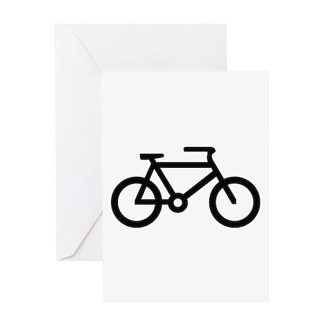 Bicycle Image Greeting Card