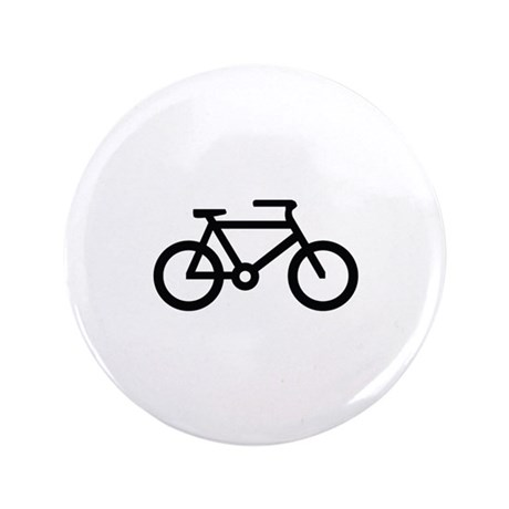 """Bicycle Image 3.5"""" Button (100 pack)"""