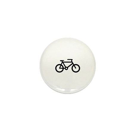 Bicycle Image Mini Button (100 pack)