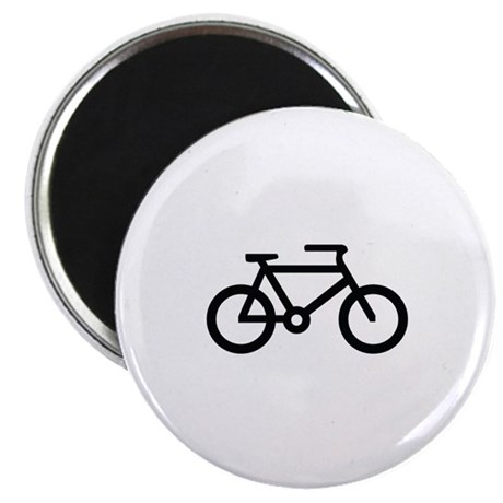 "Bicycle Image 2.25"" Magnet (10 pack)"