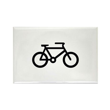 Bicycle Image Rectangle Magnet
